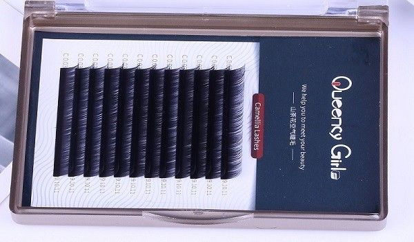 Synthetic Fiber Material Eyelash Individual Extension 3D 6D 9D Black Easy Volume